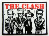 The Clash - 'Group Caricature' Embroidered Patch